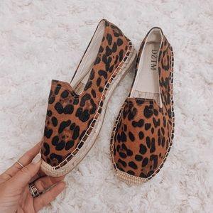 Vici collection Leopard espadrilles